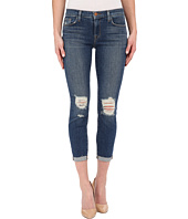 J Brand - Mid-Rise Crop in Breathless