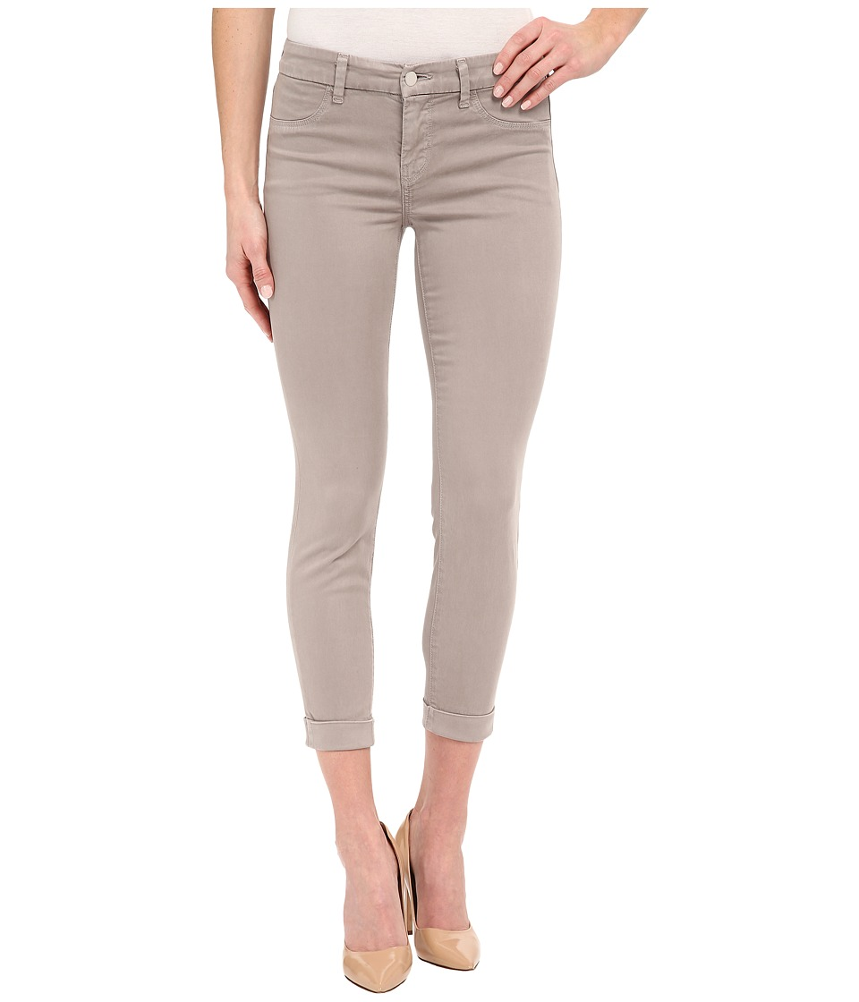 J Brand Anja Cuffed Ankle Crop in Melody Grey Melody Grey Womens Jeans