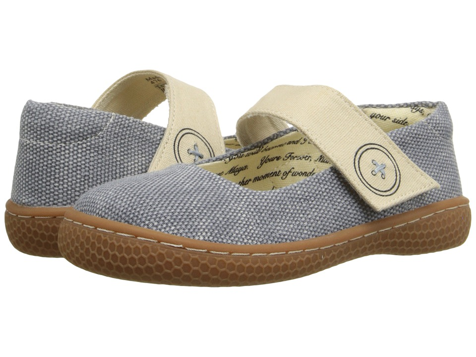 Livie amp Luca Carta Toddler/Little Kid Jean Blue Girls Shoes