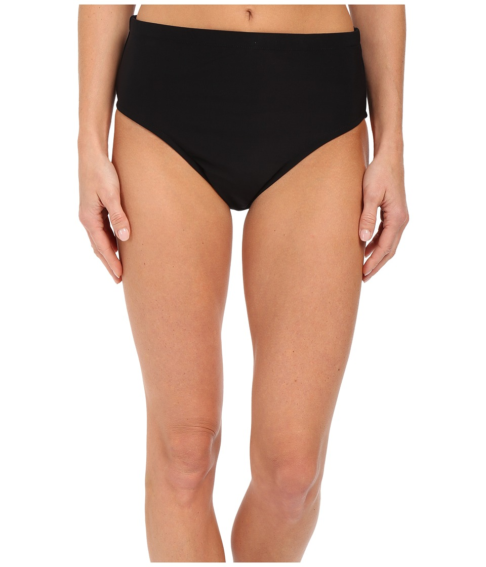 Magicsuit Jersey Classic Brief Bottoms Black Womens Swimwear