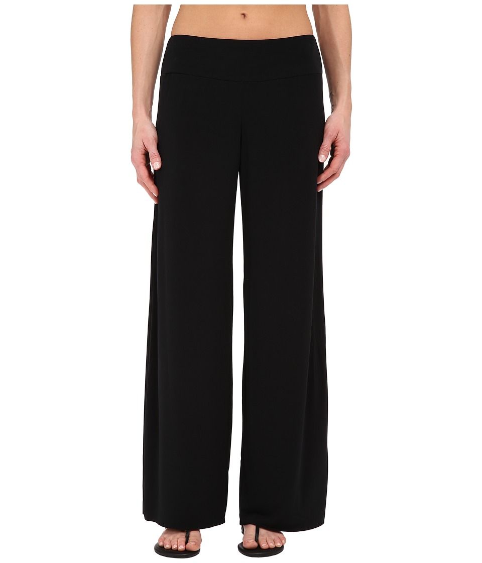 Magicsuit Cabana Pants Black Womens Swimwear