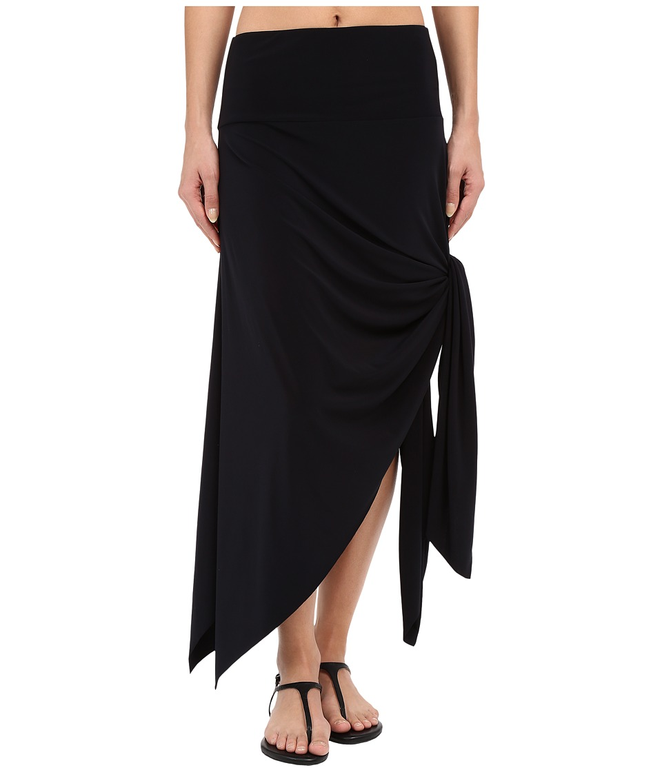 Magicsuit Jersey Handkerchief Skirt Dress Black Womens Skirt