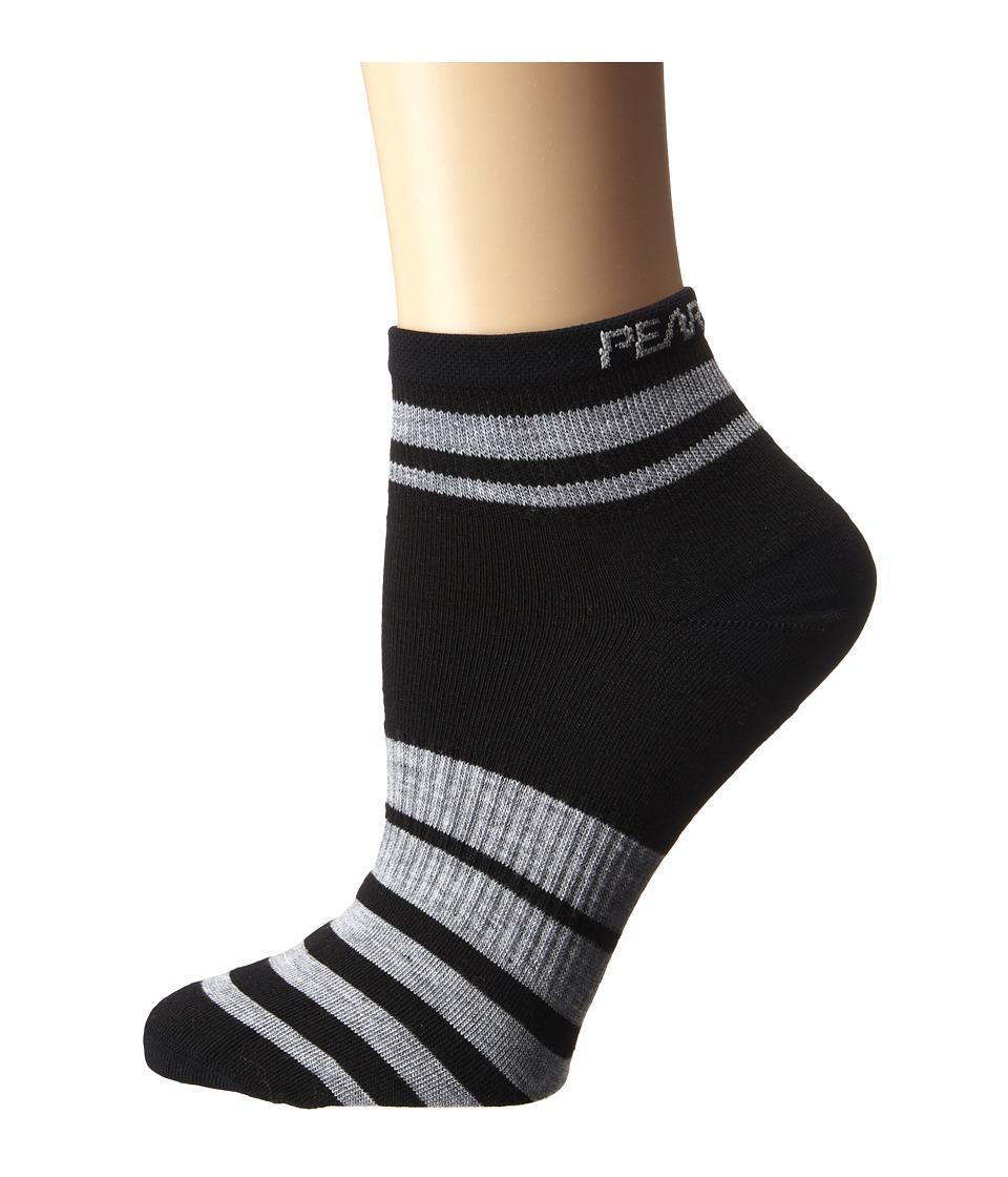 Pearl Izumi W Elite Sock PI Core Black Womens Crew Cut Socks Shoes
