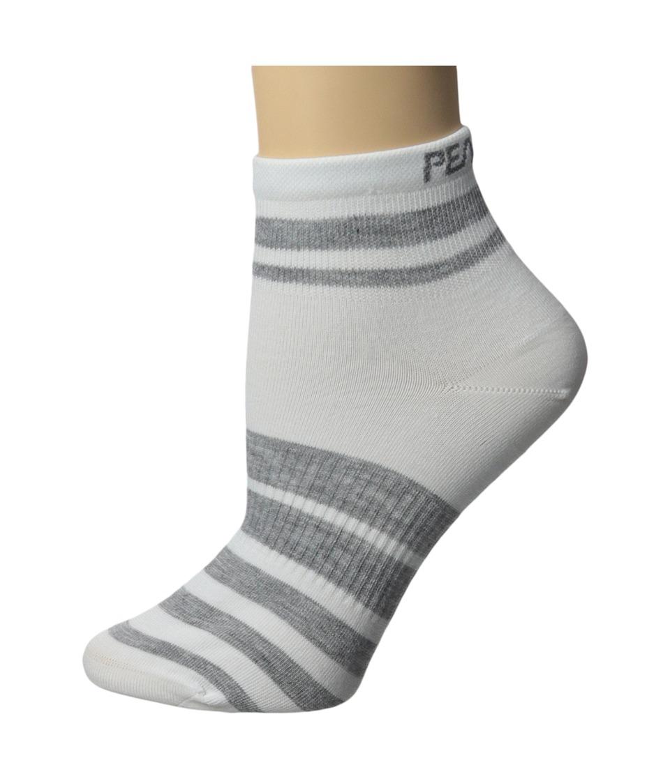Pearl Izumi W Elite Sock PI Core White Womens Crew Cut Socks Shoes