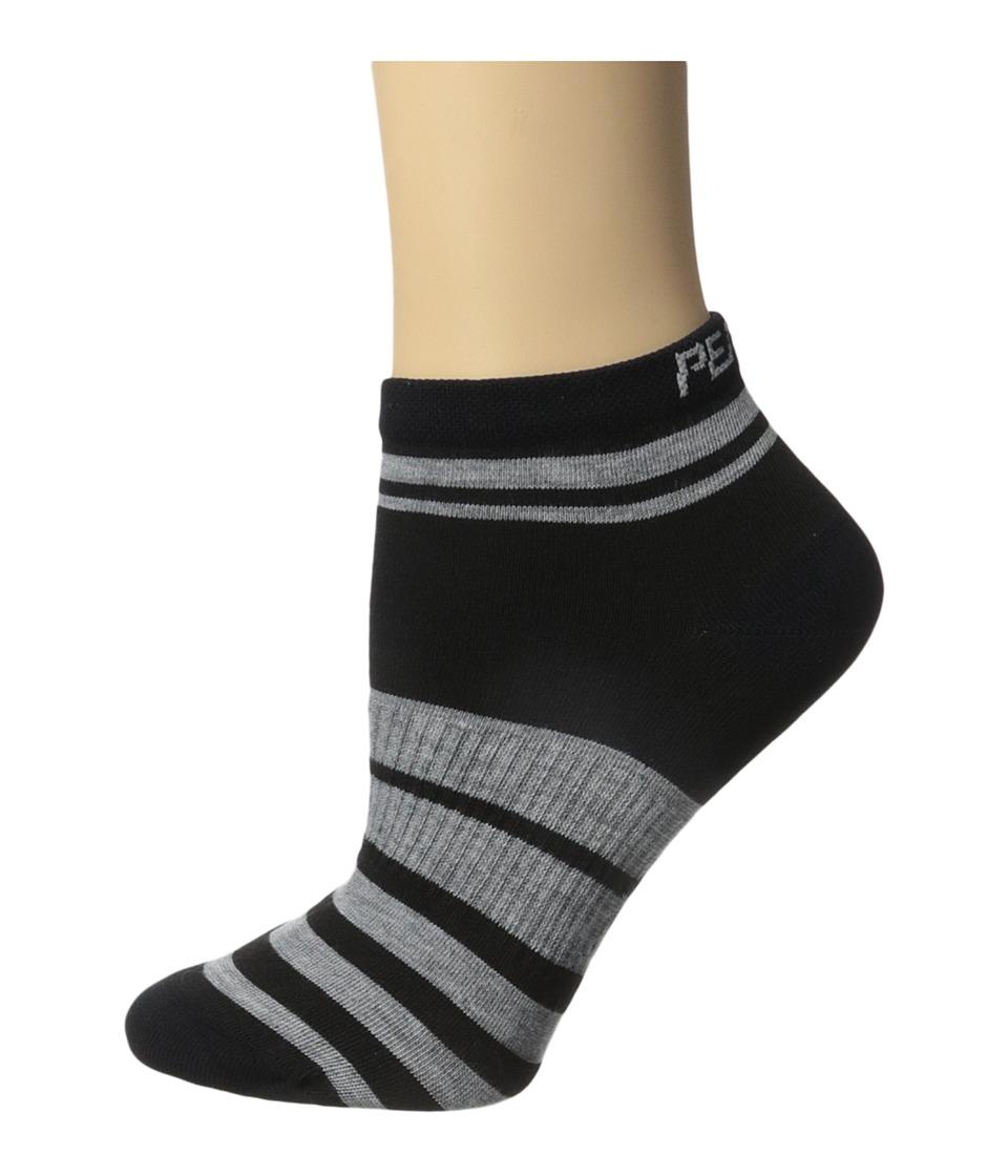 Pearl Izumi W Elite Low Sock PI Core Black Womens Low Cut Socks Shoes