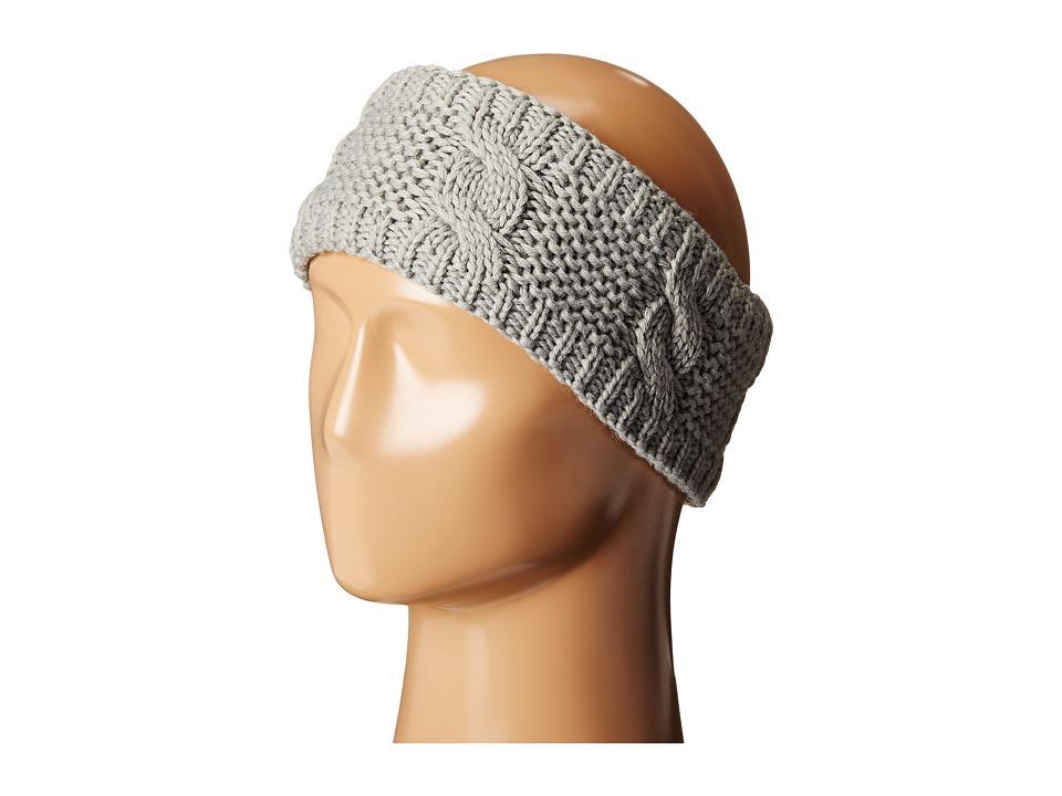 BULA Lulu Earband Heather Medium Grey Combo Knit Hats