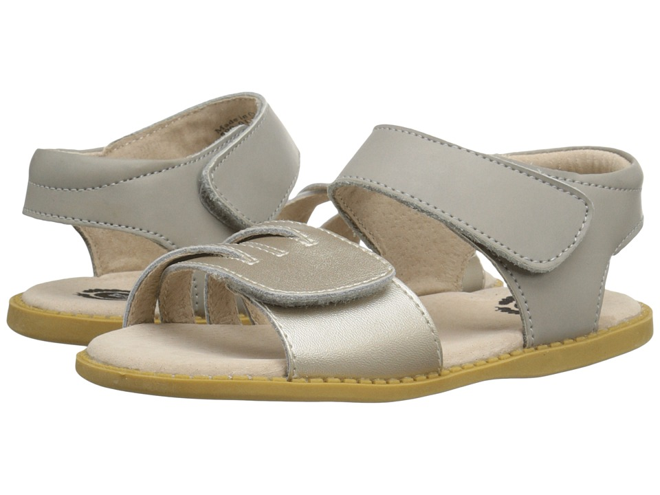 Livie amp Luca Athena Toddler/Little Kid Silver Metallic Girls Shoes