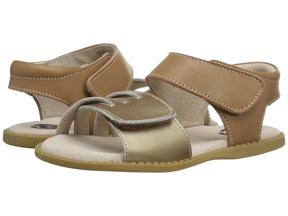 Livie amp Luca Athena Toddler/Little Kid Brass Metallic Girls Shoes
