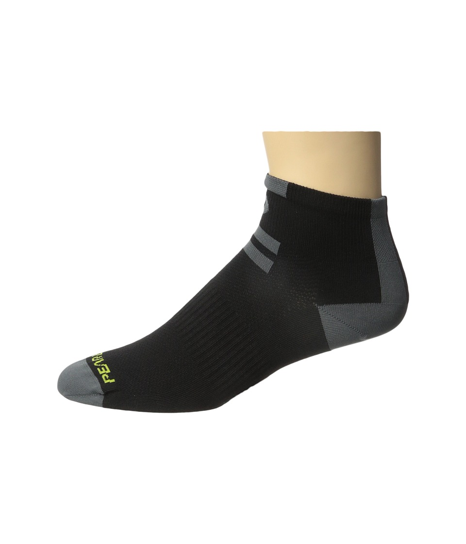 Pearl Izumi Elite Low Sock Core Black Mens Crew Cut Socks Shoes