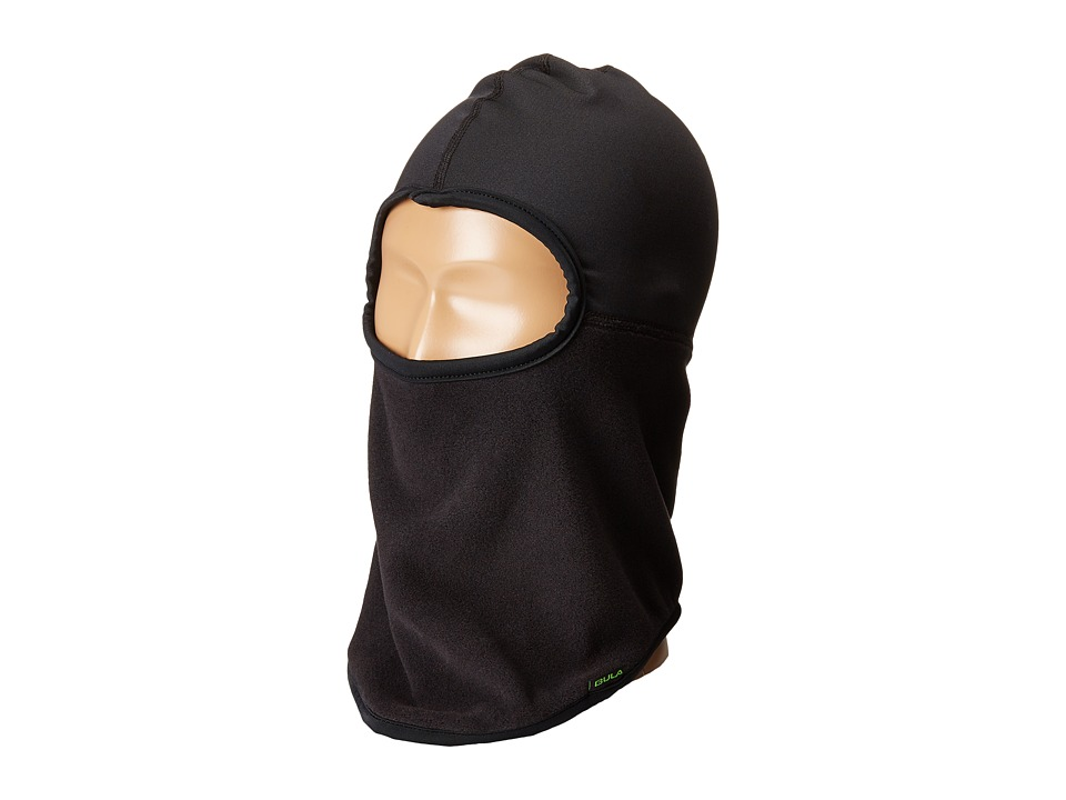 BULA - Kids Turbo Balaclava/Liner (Big Kid) (Black) Beanies