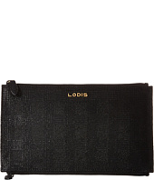 Lodis Accessories - Party Plaid Lani Double Zip Pouch