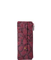 Lodis Accessories - Party Python Credit Card Case with Zipper Pocket
