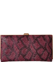 Lodis Accessories - Party Python Quinn Clutch Wallet