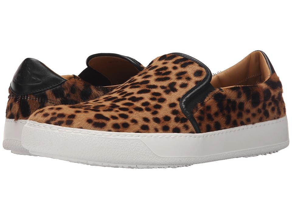 Vivienne Westwood - Slip-On Trainer (Leopard) Men