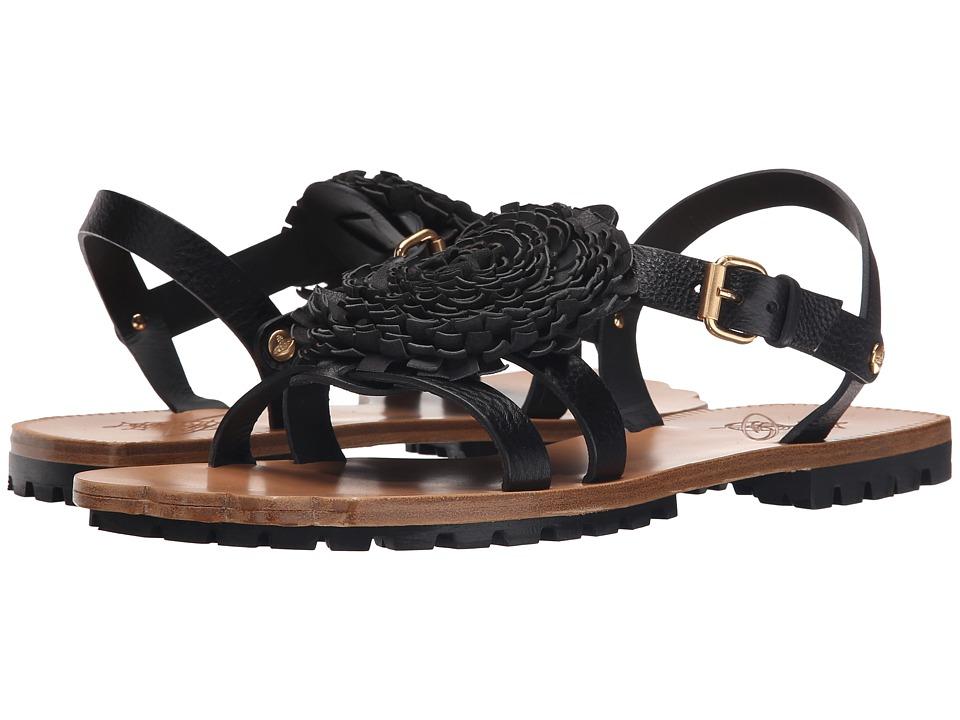 Vivienne Westwood - Animal Toe Pom Pom Sandal (Black) Men