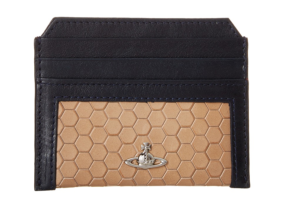 Vivienne Westwood - Cronos Card Holder (Grey) Credit card Wallet
