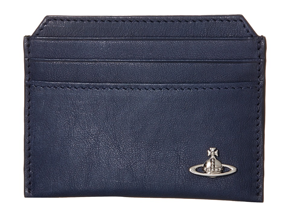 Vivienne Westwood Freddie Card Holder Blue Credit card Wallet