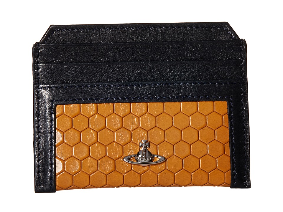 Vivienne Westwood - Cronos Card Holder (Yellow) Credit card Wallet