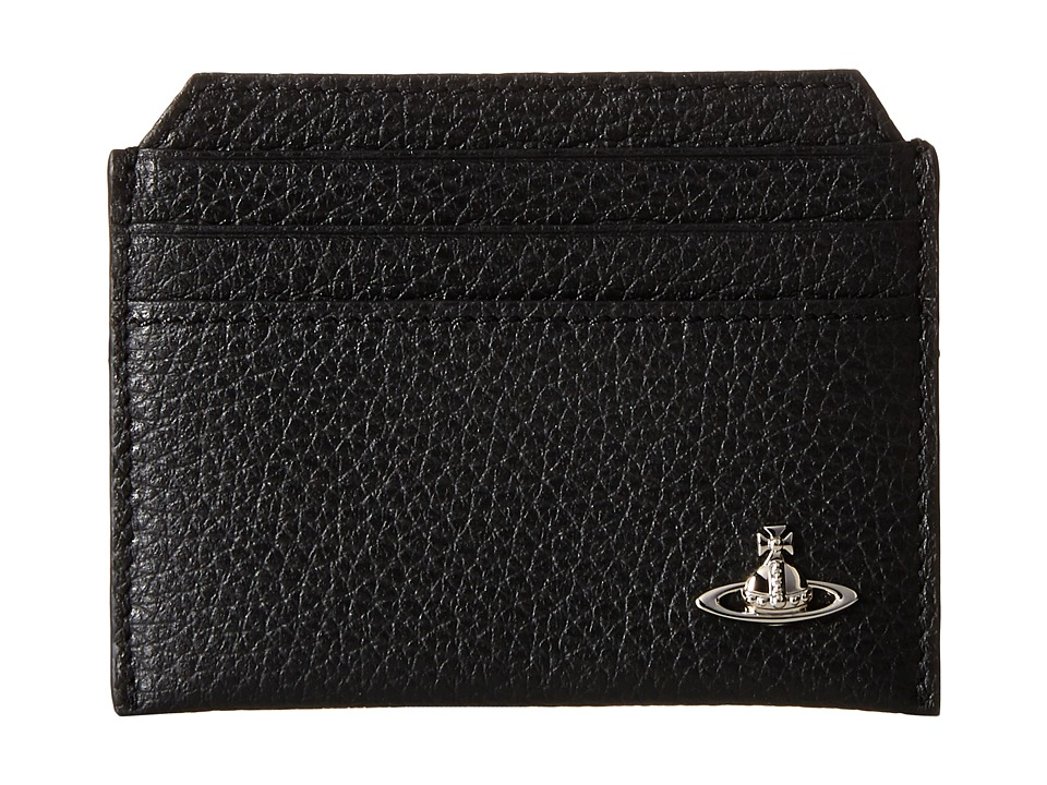 Vivienne Westwood - Leather Card Holder (Black) Credit card Wallet