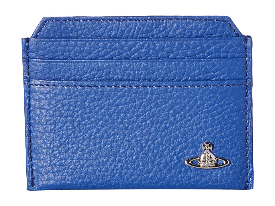 Vivienne Westwood - Leather Card Holder (Blue) Credit card Wallet