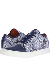 Etro - Paisley Leather Toe Sneaker