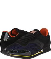 Etro - Mesh Overlay Canvas Runner Sneaker