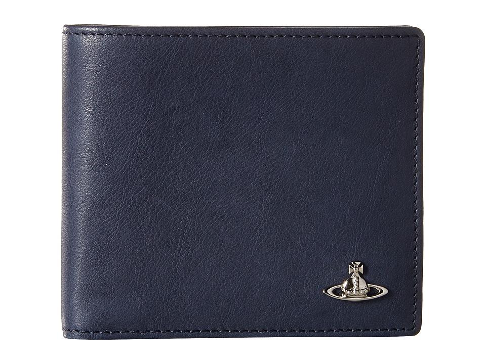 Vivienne Westwood - Freddie Wallet (Blue) Wallet Handbags