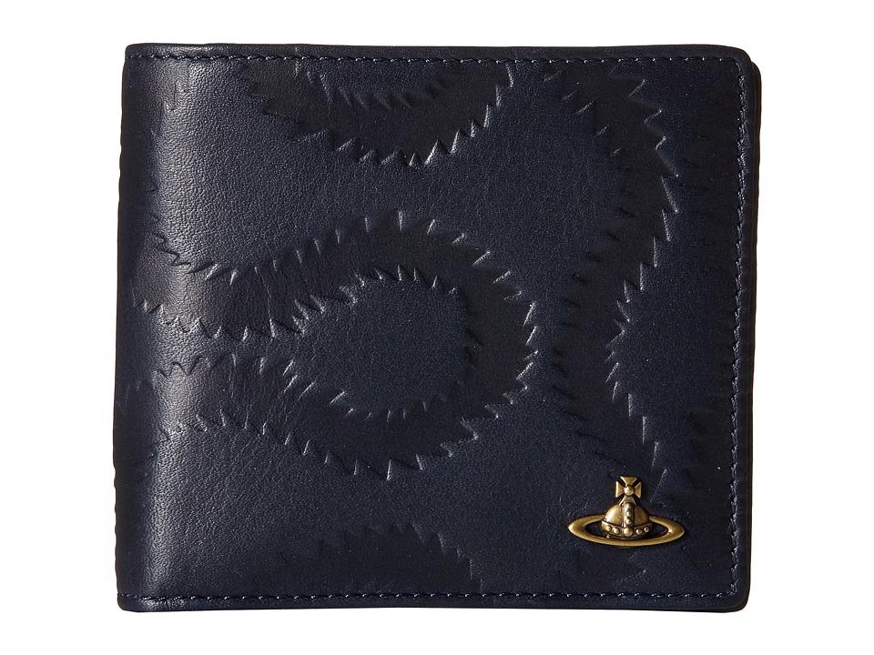 Vivienne Westwood - Squiggle Wallet (Blue) Wallet Handbags