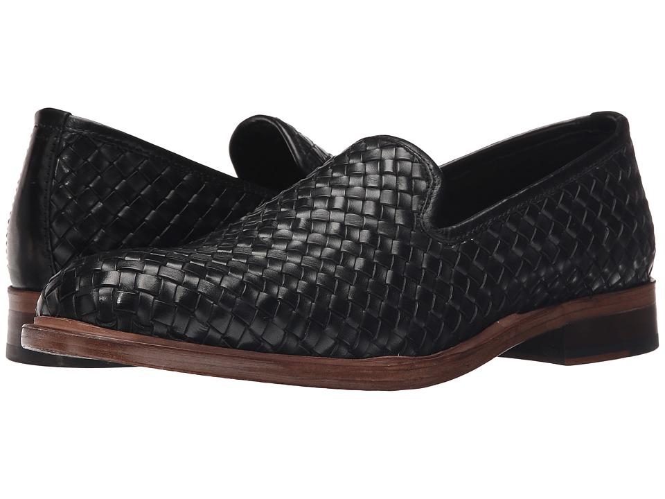 Donald J Pliner Zelvyn Black Mens Slip on Shoes