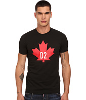 DSQUARED2 - Maple Leaf D2 Classic Fit T-Shirt