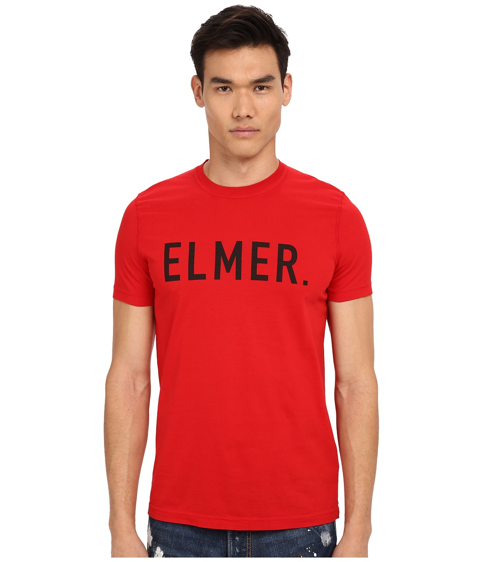 DSQUARED2 - Elmer the Canadian Hunter T-Shirt (Red) Men