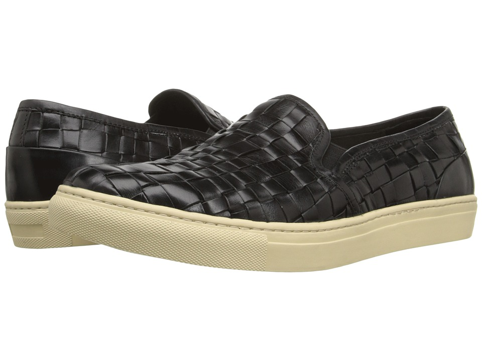 Donald J Pliner Kelt Black Mens Slip on Shoes