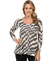 Nally & Millie - Chevron V-Neck Tunic