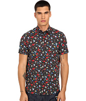 LOVE Moschino - Floral Short Sleeve Woven Tee