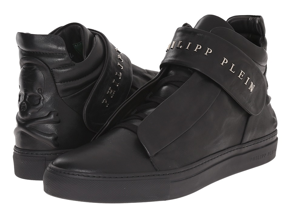 Philipp Plein Back It Up Sneaker Black Mens Shoes