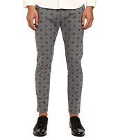 LOVE Moschino - Logo Print Chino Pants
