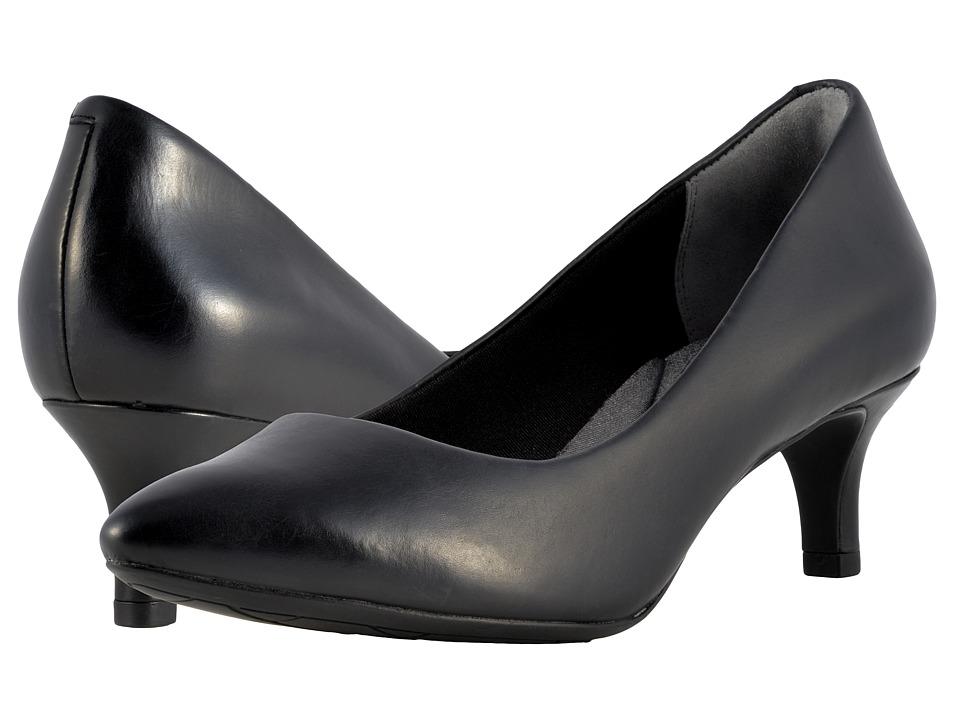 Rockport Total Motion Kalila Pump (Black Calf) High Heels