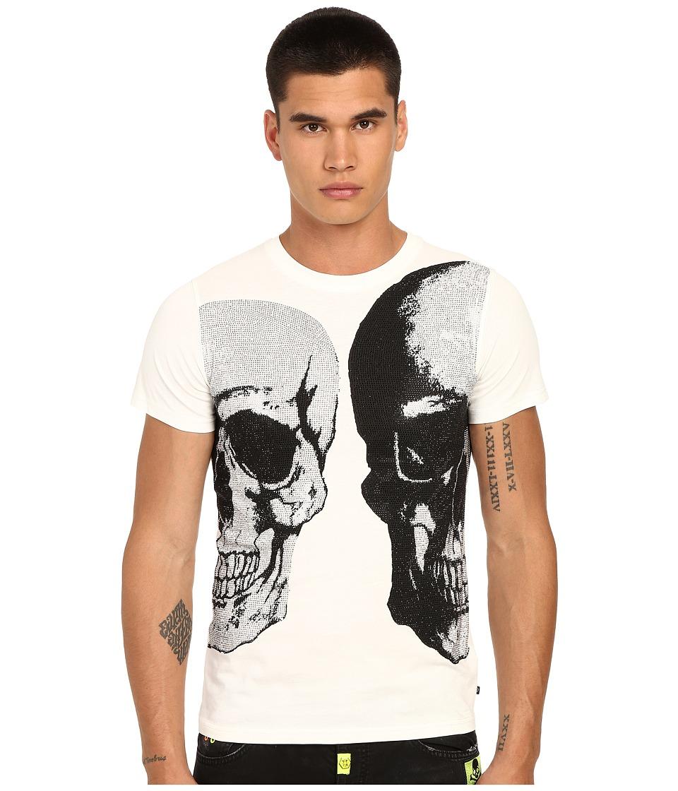 Philipp Plein Bipolar T Shirt White Mens T Shirt