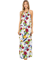 Tommy Bahama - Happy Hibiscus High Neck Long Dress Cover-Up
