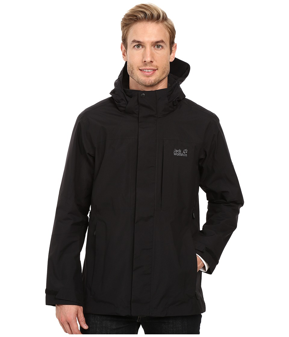 Jack Wolfskin Brooks Range Flex Jacket (Black) Men