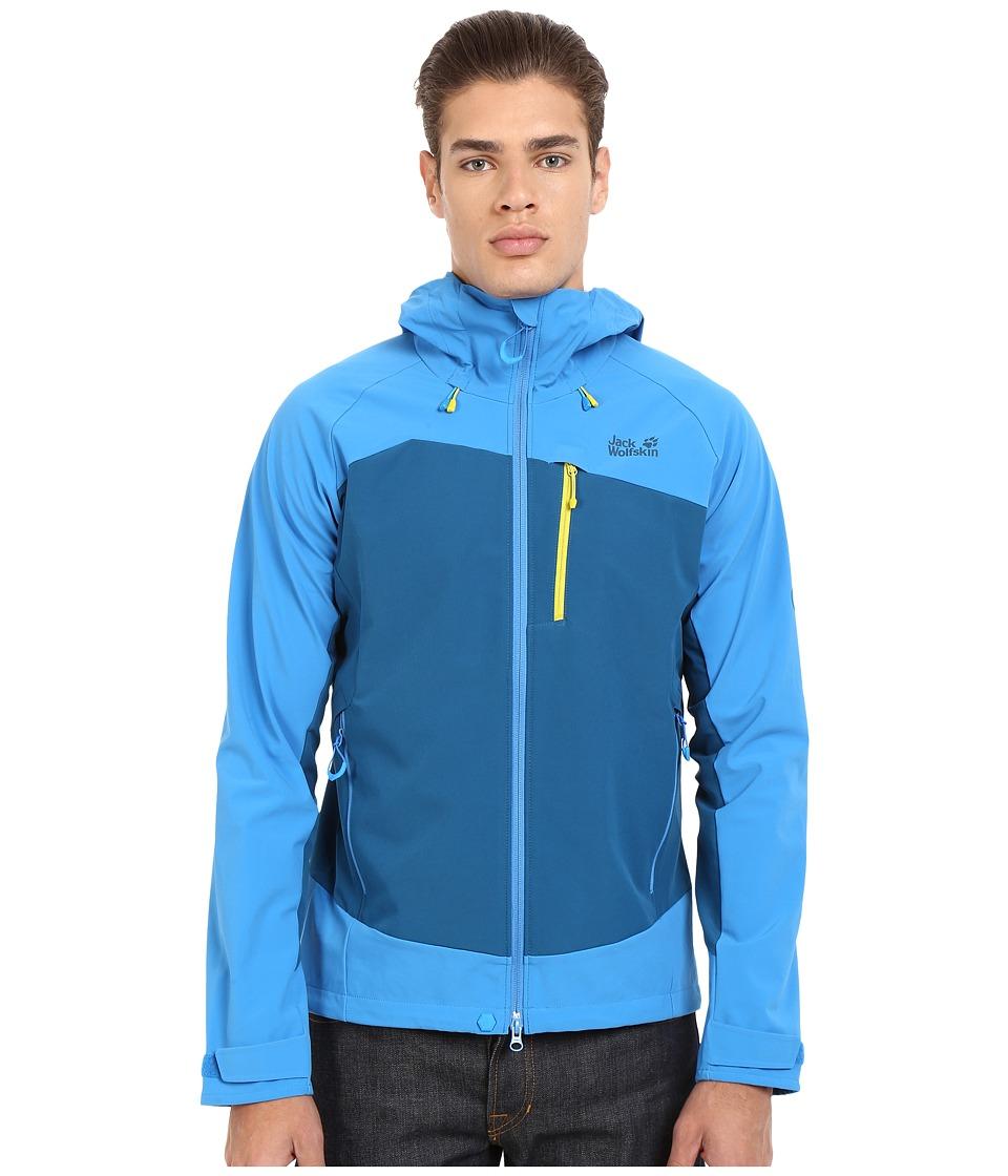 Jack Wolfskin - Gravity Flex Jacket (Moroccan Blue) Men