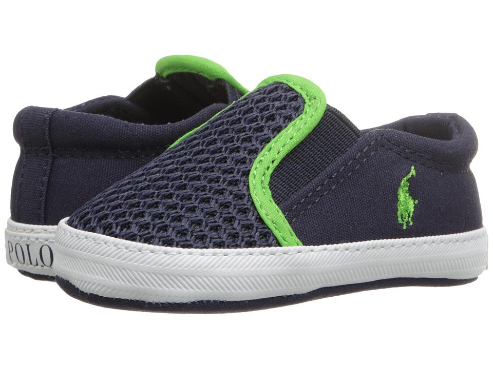 Ralph Lauren Layette Kids Benton Infant/Toddler Navy/Green Boys Shoes