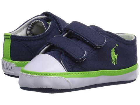 Polo Ralph Lauren Kids Carson II EZ (Infant/Toddler) - Navy/Green