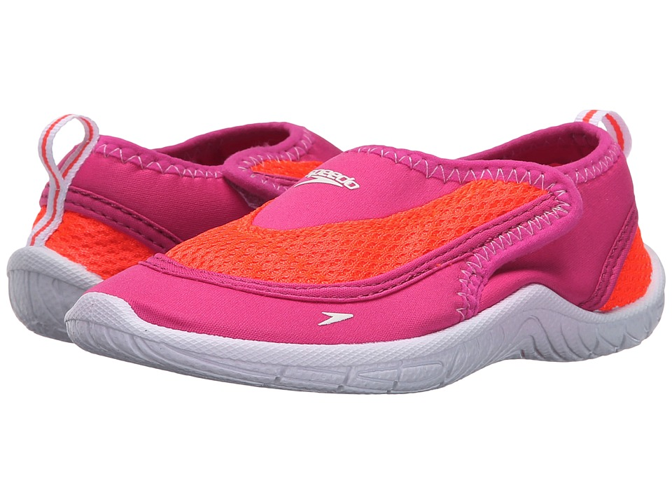 Speedo Kids Surfwalker Pro 2.0 Toddler Pink/White Girls Shoes