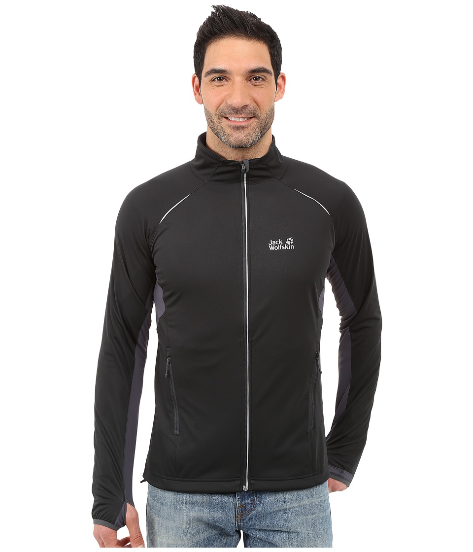 Jack Wolfskin - Exhalation Softshell Jacket (Black) Men