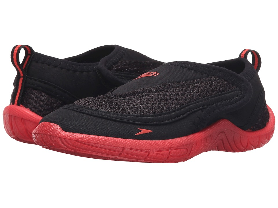 Speedo Kids Surfwalker Pro 2.0 Toddler Black/Pink Boys Shoes