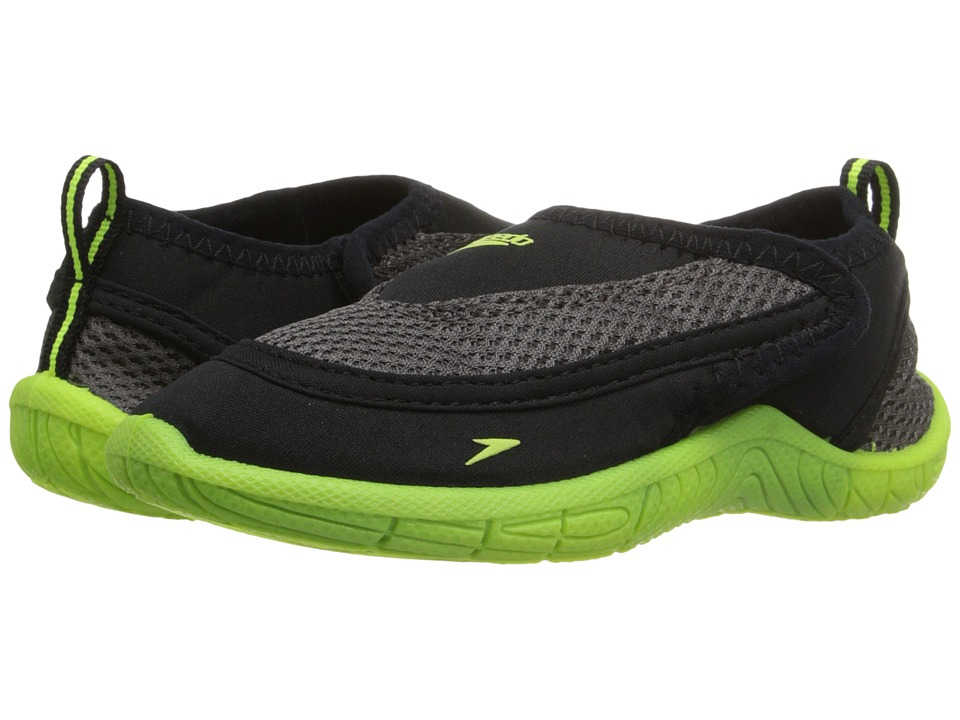 Speedo Kids Surfwalker Pro 2.0 Toddler Black/Yellow Boys Shoes