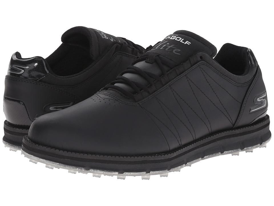 SKECHERS Performance Go Golf Tour Elite Black Mens Golf Shoes