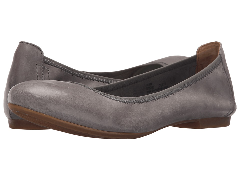 Born Julianne (Grey Full Grain Leather) Flats
