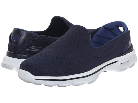 SKECHERS Performance Go Walk 3 - Dominate - Navy/Blue